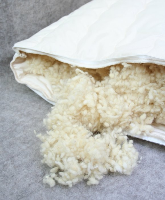 wool pillow
